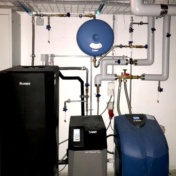 Enthärtungs Osmosenanlage Wasseraufbereitung | H5Haustechnik
