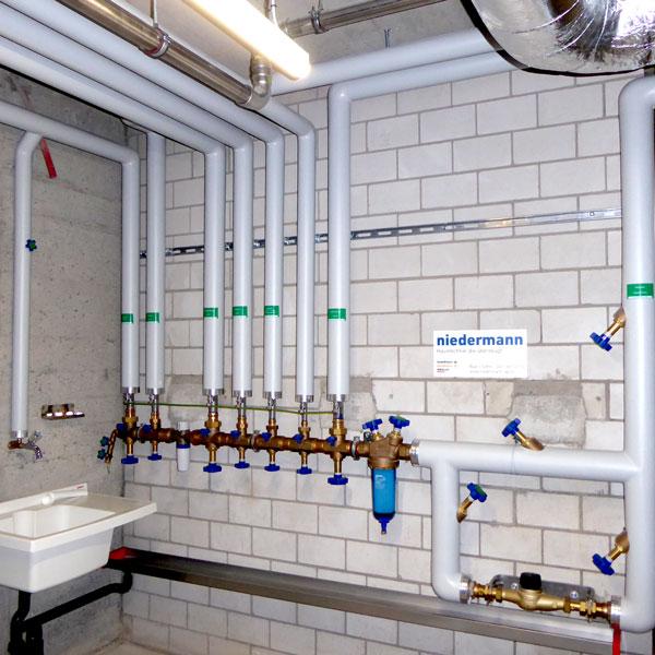 Sanitärverteilbatterie | H5 Haustechnik