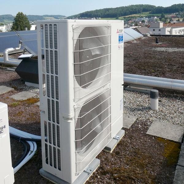 Ausseneinheit Klima | H5Haustechnik