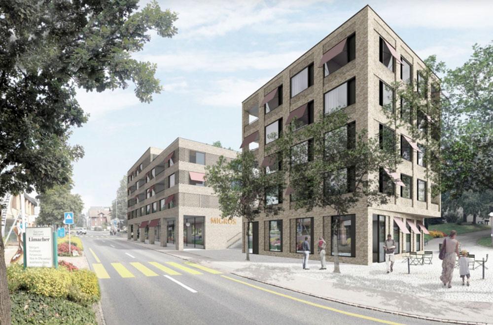 Überbauung Dorfzentrum Hünenberg | H5Haustechnik