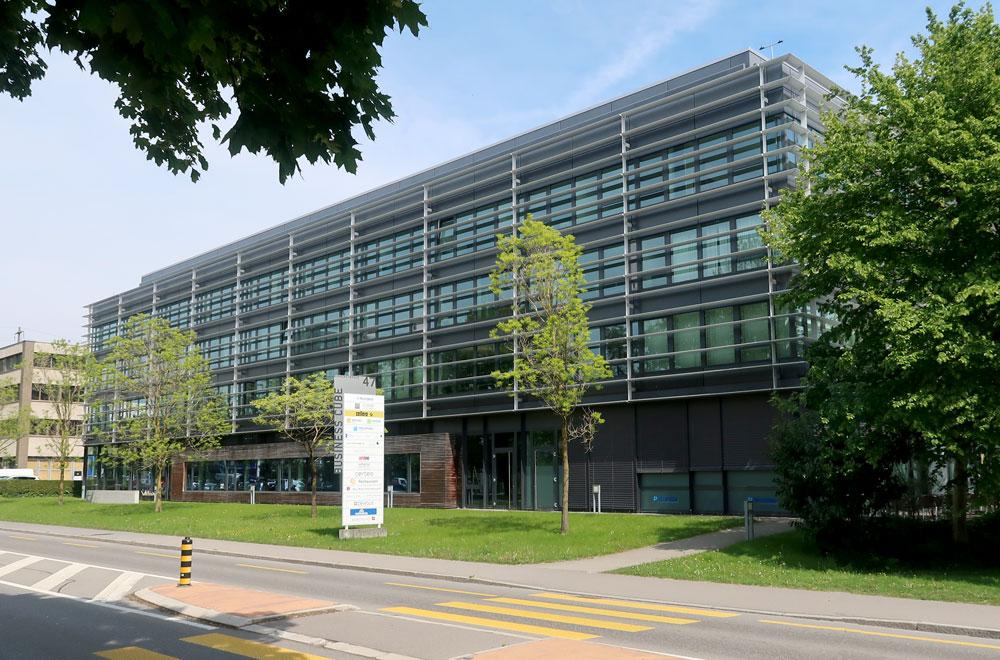 Business Cube Rotkreuz | H5 Haustechnik
