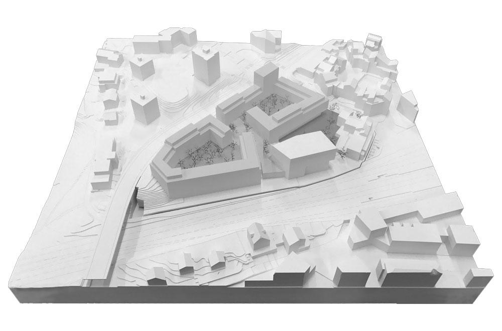 Chäsimatt Rotkreuz| Architekturmodell | H5 Haustechnik