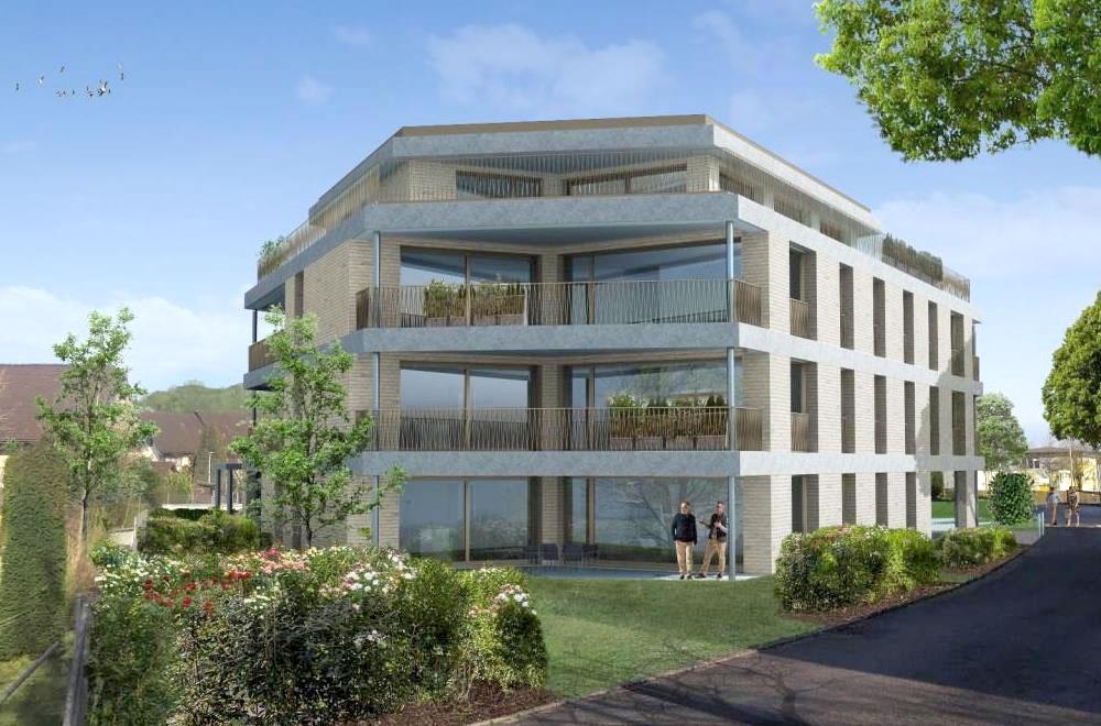 Hofmatt Hagendorn Fassade | H5Haustechnik