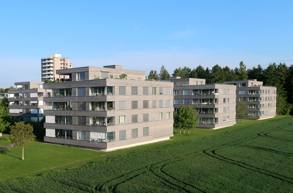 Überbauung Schlattwäldli Hünenberg | H5 Haustechnik