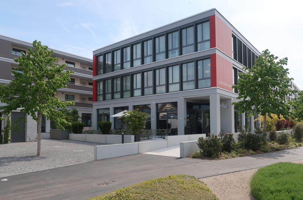 Arealueberbauung Lindenmatt Aerztehaus Rotkreuz | H5 Haustechnik