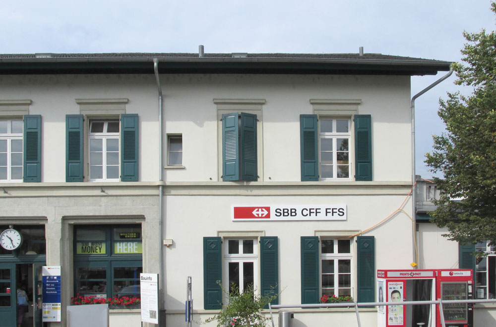 Bahnhof Zofingen | H5Haustechnik