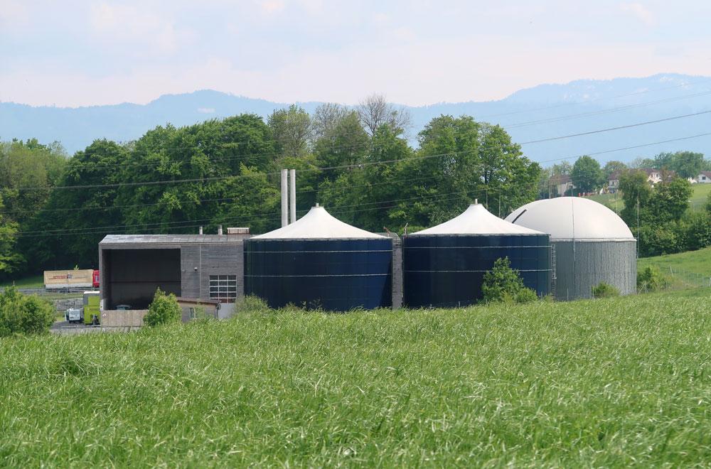 BIEAG Biogasanlage Hünenberg | H5 Haustechnik