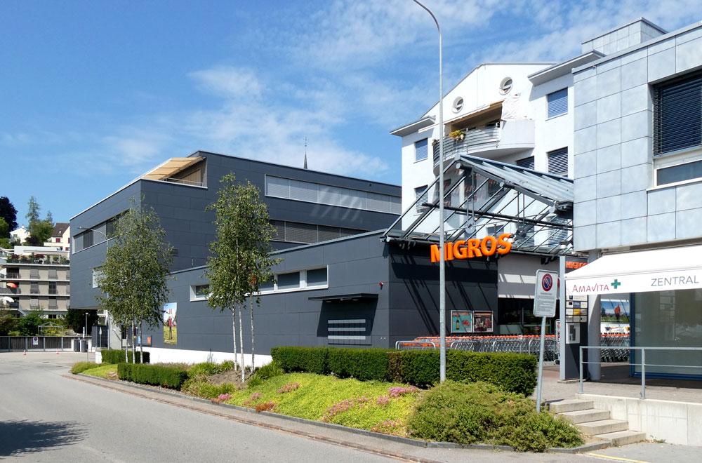 Einkaufszentrum Migros Muri Bild1 | H5Haustechnik