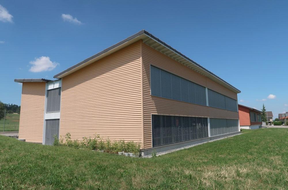 Erweiterung Schulhaus Abtwil Bild2 | H5Haustechnik