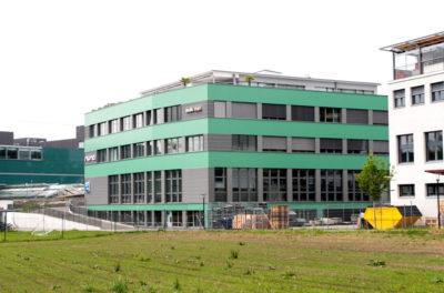 Gewerbebau beim Bahnhof Steinhausen | H5 Haustechnik