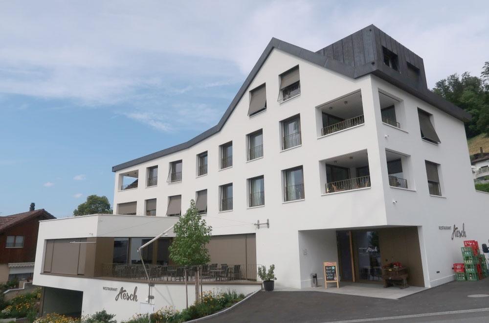 Hotel Wohnungen Aesch Walchwil Bild2 | H5Haustechnik