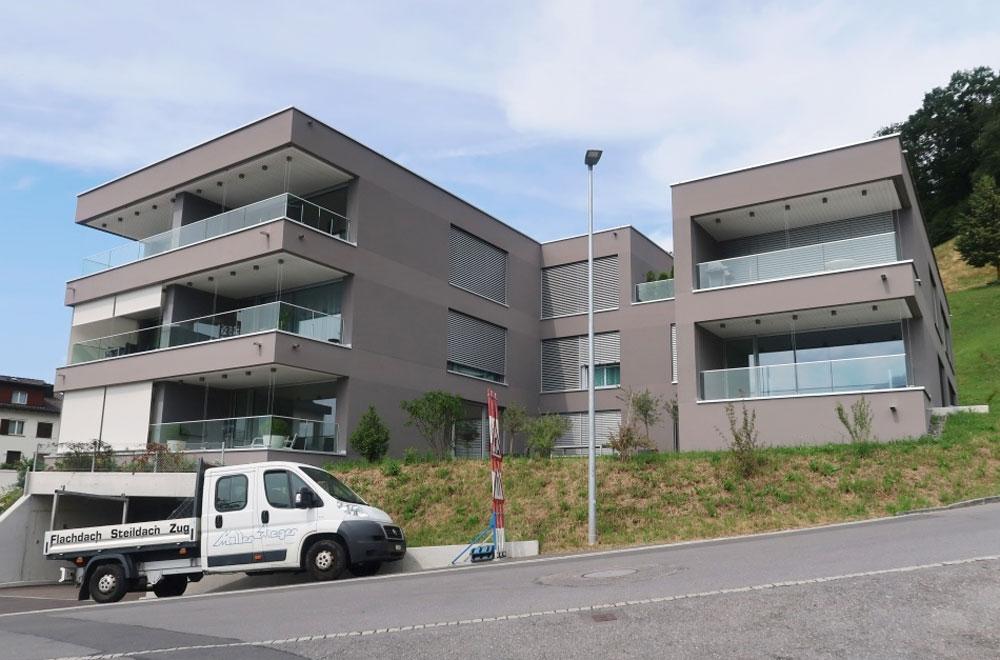 Hotel Wohnungen Aesch Walchwil | H5Haustechnik