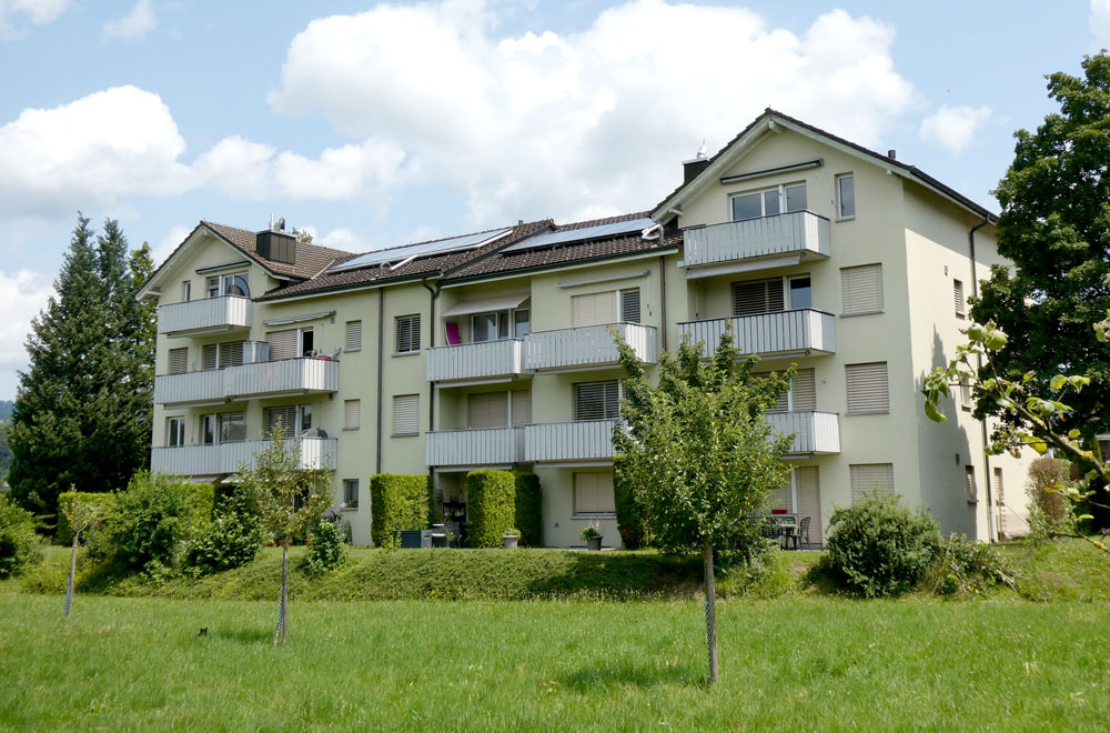 MFH Deinikonerstrasse Baar | H5Haustechnik