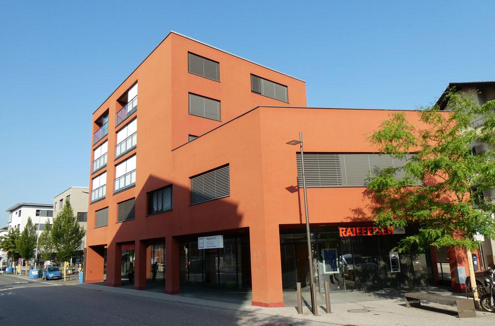 Raiffeisenbank Rotkreuz | H5Haustechnik