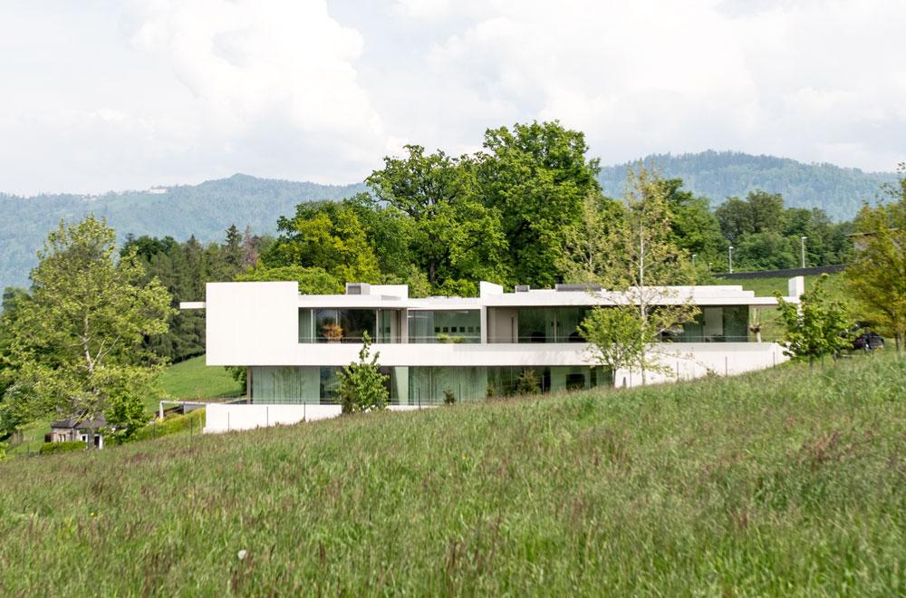 Villa Schlossweg Buonas | H5 Haustechnik