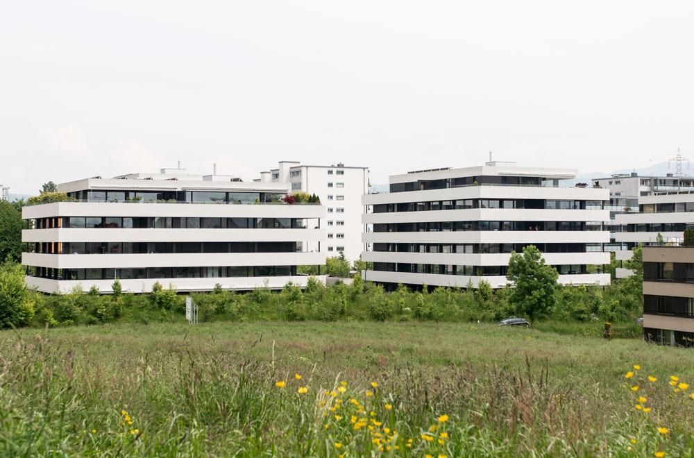 Überbauung Goldermatten Steinhausen | H5 Haustechnik