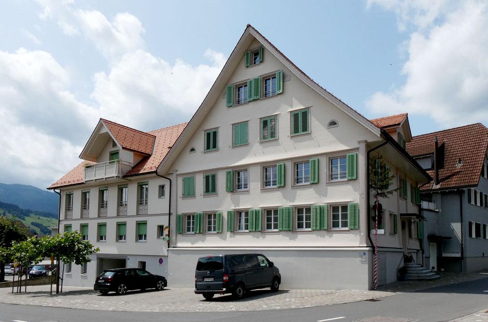 Umnutzung Gasthaus Kreuz Unterägeri Bild2 | H5Haustechnik