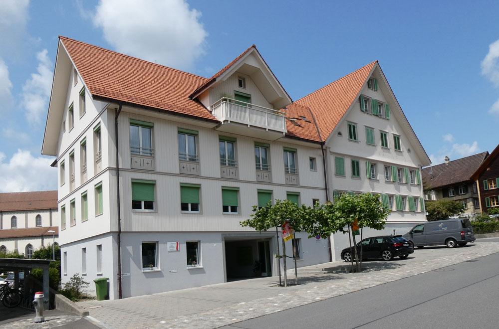Umnutzung Gasthaus Kreuz Unterägeri | H5Haustechnik
