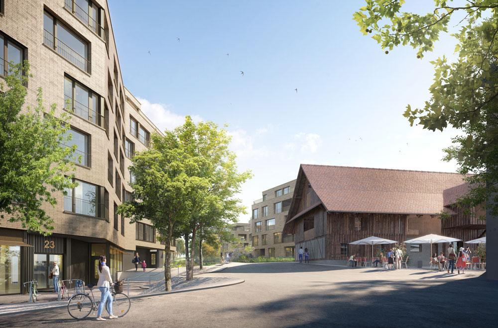 Arealbebauung Lindenpark Steinhausen 2 | H5Haustechnik