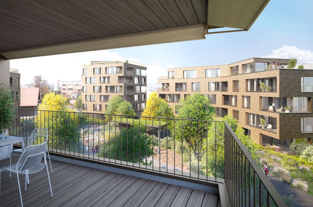 Arealbebauung Lindenpark Steinhausen | H5Haustechnik