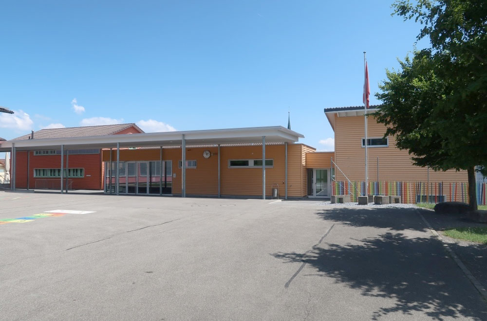Erweiterung Schulhaus Abtwil Bild1 | H5Haustechnik